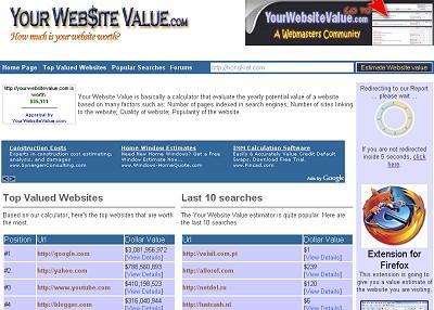 yourwebsitevalue