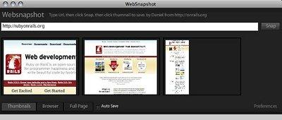 websnapshot