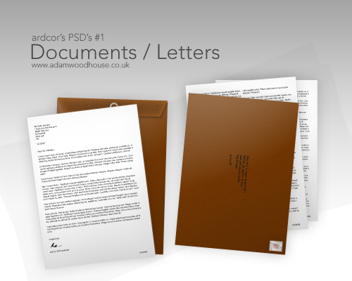 documents letters templates