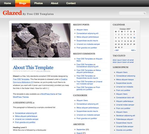 Amazon Html Templates 飛爾酥創意設計 - 60款.高質感網站版型.免費下載