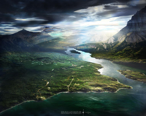 Terragen   The Way God Made Me 100 Absolutely Beautiful Nature Photography