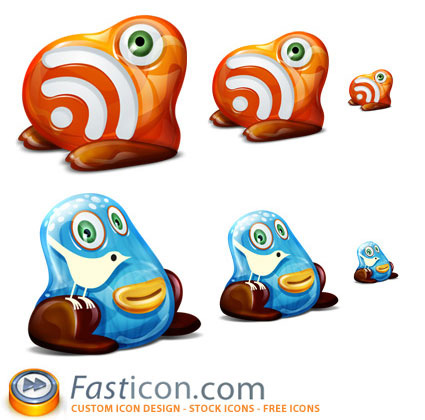 monsterfeeds 485+ Free Best Twitter Icons And Buttons Part 1