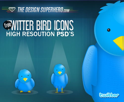 twitter bird icons 485+ Free Best Twitter Icons And Buttons Part 1