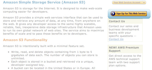 sign up aws Amazon S3   The Beginners Guide