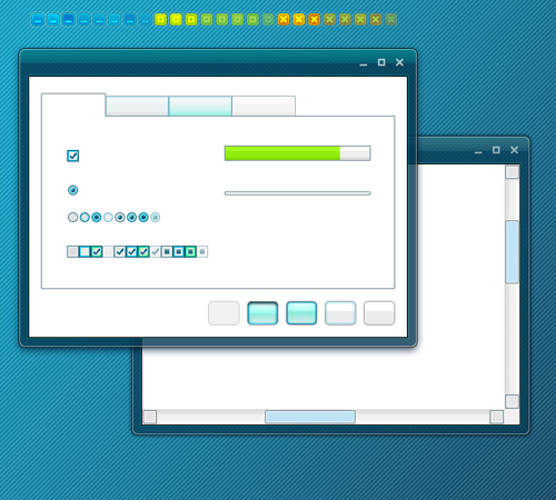 Turquoise PSD