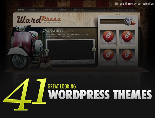 41 Great Looking Free WordPress Themes