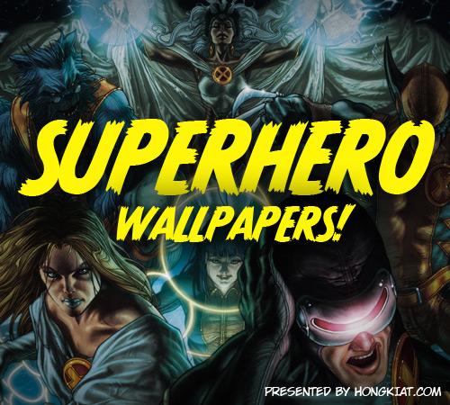 60 Marvelous Superhero Wallpapers